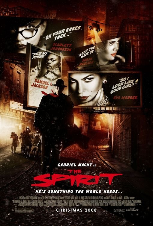 Смотреть онлайн Мститель / The Spirit 2008 Фантастика Онлайн
