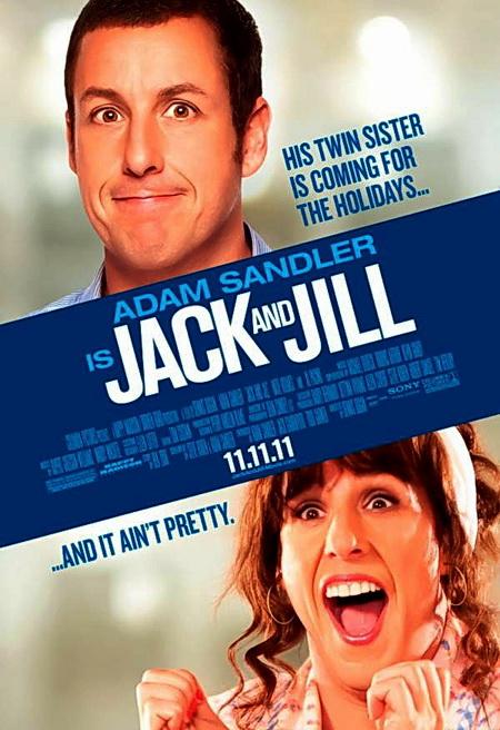Смотреть онлайн Такие Разные Близнецы / Jack and Jill 2011