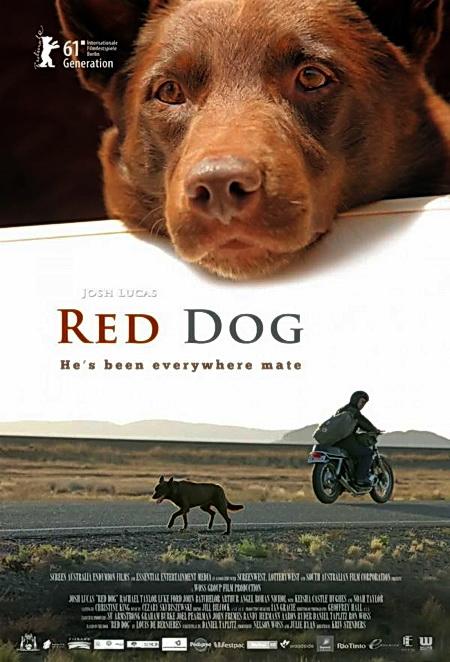 Смотреть онлайн Рыжий пес / Red Dog (2011) HD