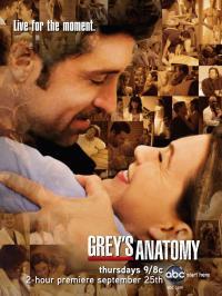 Смотреть онлайн Онлайн Сериал Анатомия страсти / Grey's Anatomy 3 Сезон