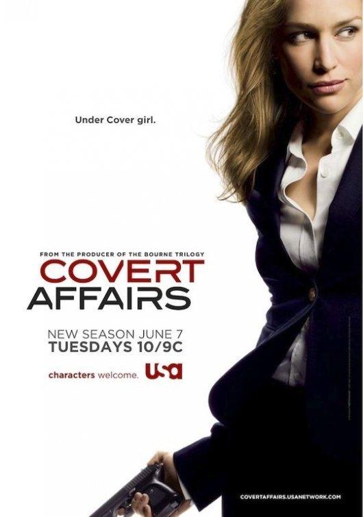 Смотреть онлайн Season Фильм Тайные связи / Covert Affairs 2 TV Series Онлайн