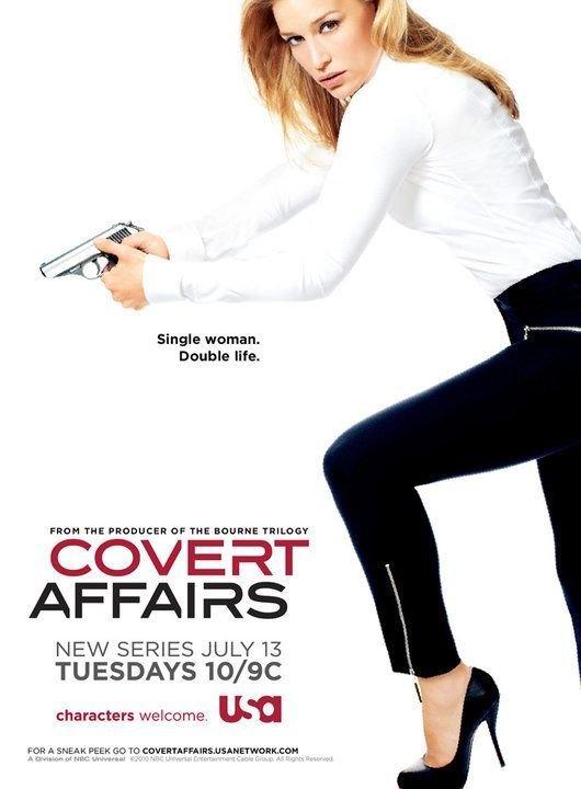 Смотреть онлайн TV Season Covert Affairs 1  Series Фильм Тайные связи / Онлайн 2010