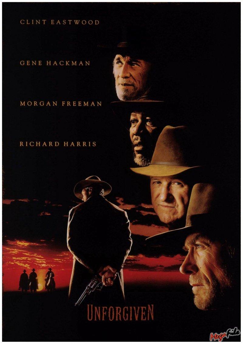 Смотреть онлайн Непрощенный / Unforgiven Клинт Иствуд 1992 Вестерн